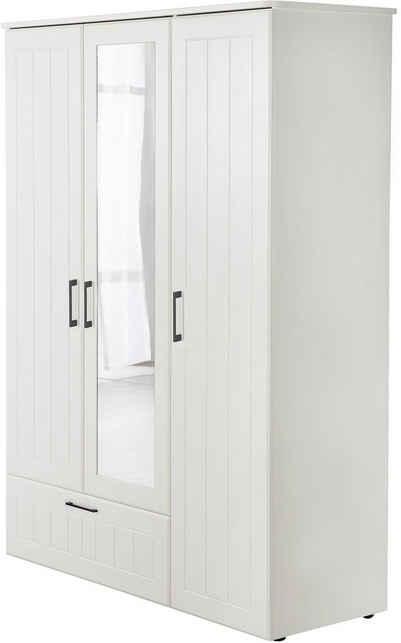 roba® Kleiderschrank »Sylt« 3-türig mit Spiegeltür; Made in Europe