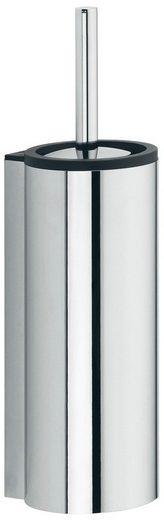 KEUCO WC-Bürstengarnitur »Plan«, Kunststoff-Einsatz, verchromt