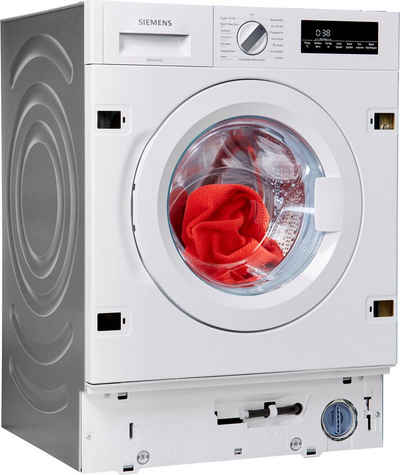 SIEMENS Einbauwaschmaschine iQ700 WI14W442, 8 kg, 1400 U/min