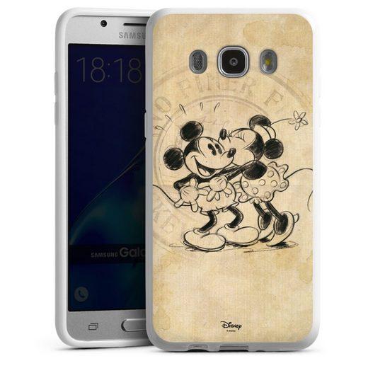 DeinDesign Handyhülle »Minnie&Mickey« Samsung Galaxy J5 Duos (2016), Hülle Mickey Mouse Offizielles Lizenzprodukt Minnie Mouse