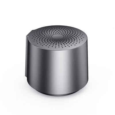 HOAIYO Lautsprecher V6 Bluetooth-Lautsprecher (3 W, Round tragbarer, Mini kabelloser Bluetooth-Lautsprecher (wasserabweisend, Extra Bass)