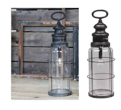 Chic Antique Kerzenhalter »Factory Lampe LED Laterne Windlicht Chic Antique 42cm 25470-25«