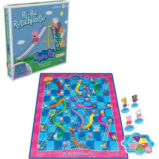 Hasbro Spiel, »Ri-Ra Rutschpartie Peppa Wutz Edition Brettspiel«
