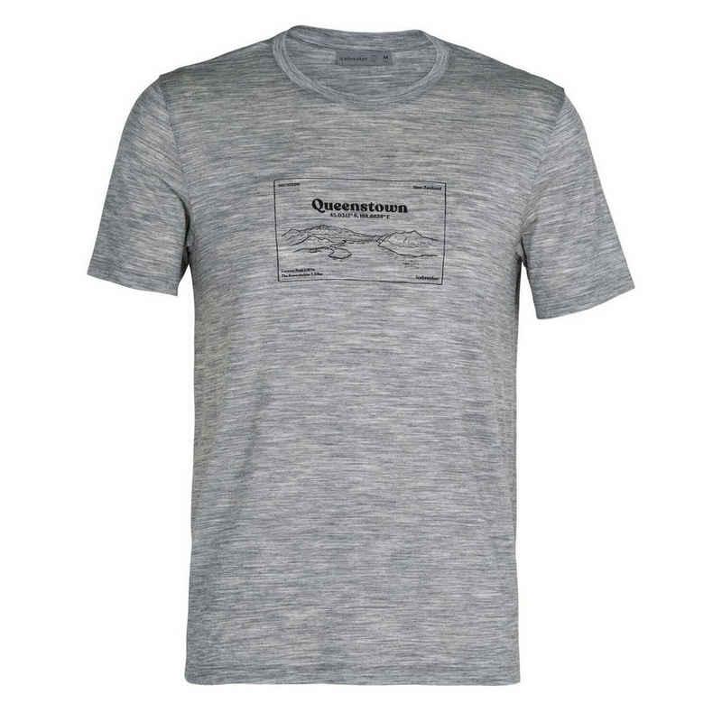 Icebreaker Kurzarmshirt »Herren T-Shirt Tech Lite Queenstown«