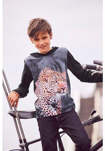 KIDSWORLD Marškinėliai su gobtuvu »LEOPARD«