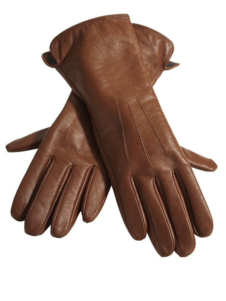 Handschuhe in cognac