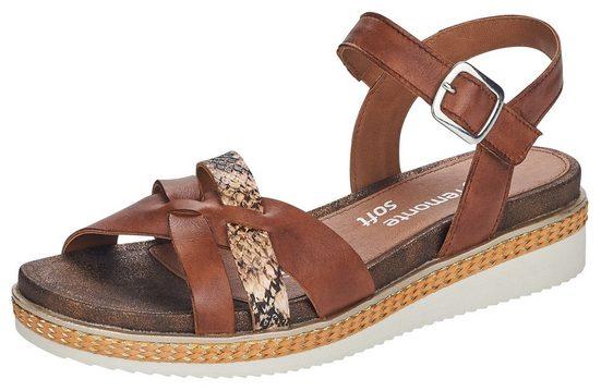 Remonte Sandalette mit überkreuzten Riemchen