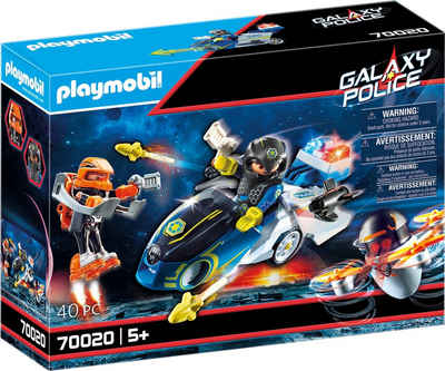 Playmobil® Konstruktions-Spielset »Galaxy Police-Bike (70020), Galaxy Police«, (40 St), Made in Europe