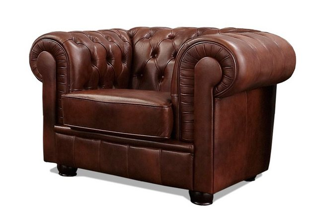 Max Winzer® Chesterfield-Sessel »Kent«| mit edler Knopfheftung | Wohnzimmer > Sessel > Chesterfield Sessel | Max Winzer®