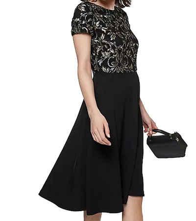 GUIDO MARIA KRETSCHMER Abendkleid »GUIDO MARIA KRETSCHMER Abend-Kleid edles Damen Ball-Kleid mit Paillettenbesatz Gala-Kleid Schwarz«