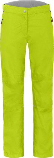 Bergson Regenhose »LYNDE« Damen Regenhose, Netzfutter, 12000 mm Wassersäule, Kurzgrößen, leuchtend grün