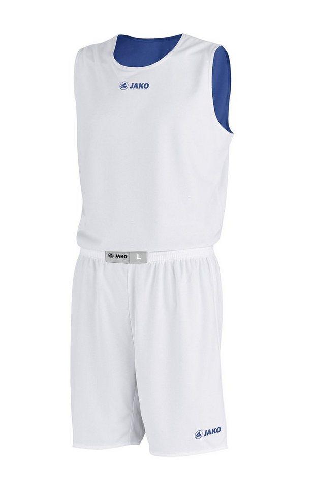 JAKO Basketball Wendeshort Change Herren in royal/weiß