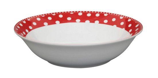 Krasilnikoff Salatteller »Krasilnikoff Salat Schale Punkte rot«