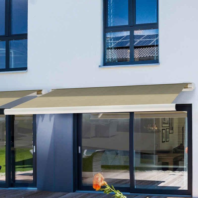 HOME DELUXE Kassettenmarkise »LED Elos V2« Breite/Ausfall: 500x300 cm, mit LED und Fernbedienung