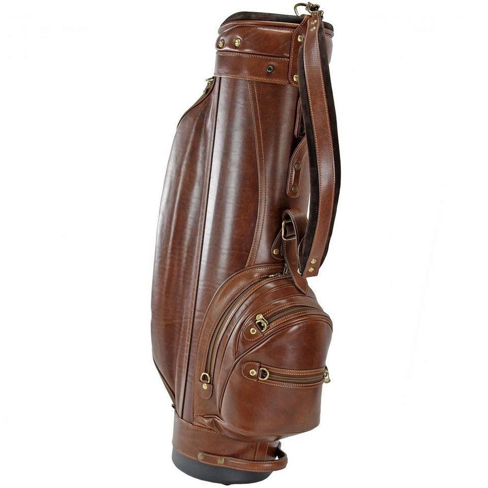 The Bridge Story Viaggio Golftasche / Golfbag Leder 88 cm in marrone