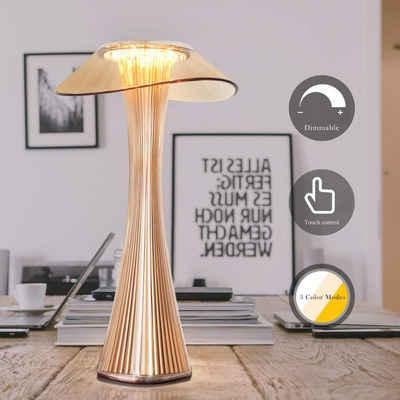 ZMH Nachttischlampe »Tischleuchte Tischlampe Nachtlicht Dimmbar in 3 Helligkeitsstufen«