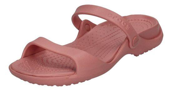 Crocs »Cleo« Keilpantolette Pink Blossom 682