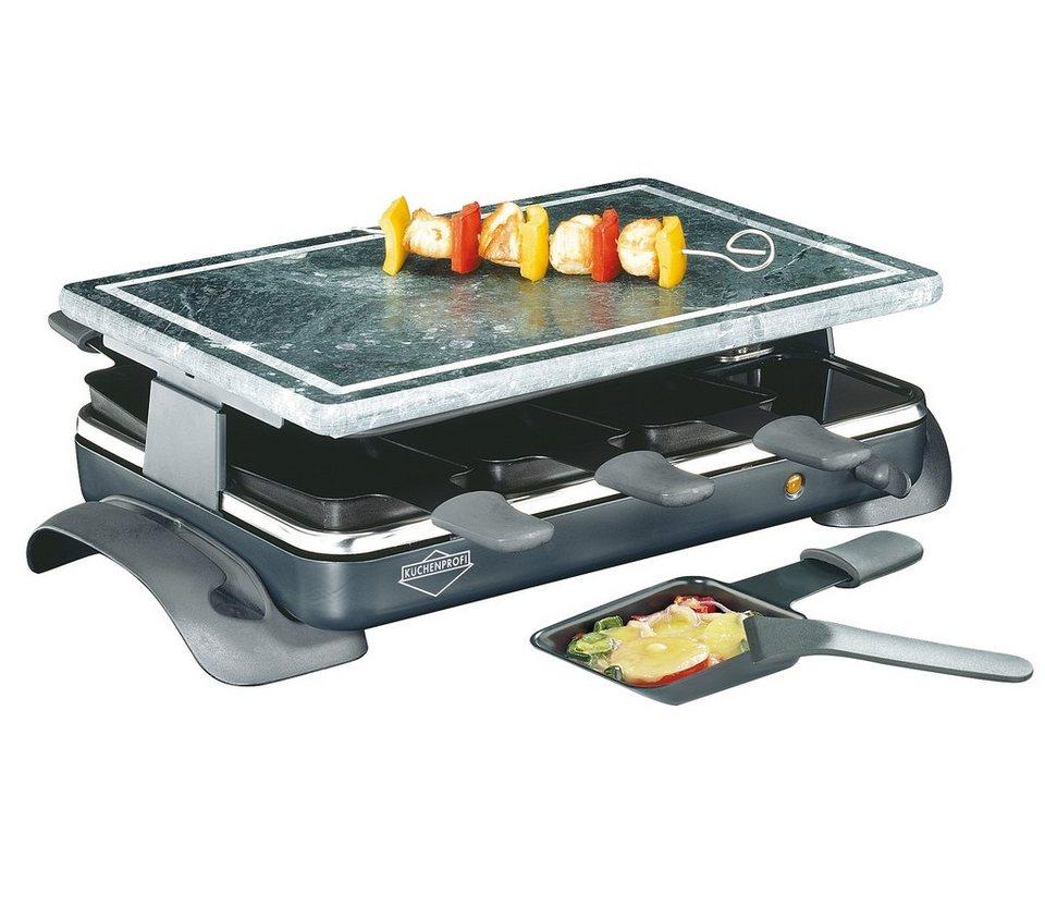 Küchenprofi Raclette mit Steinplatte »Hot Stone« in Grau