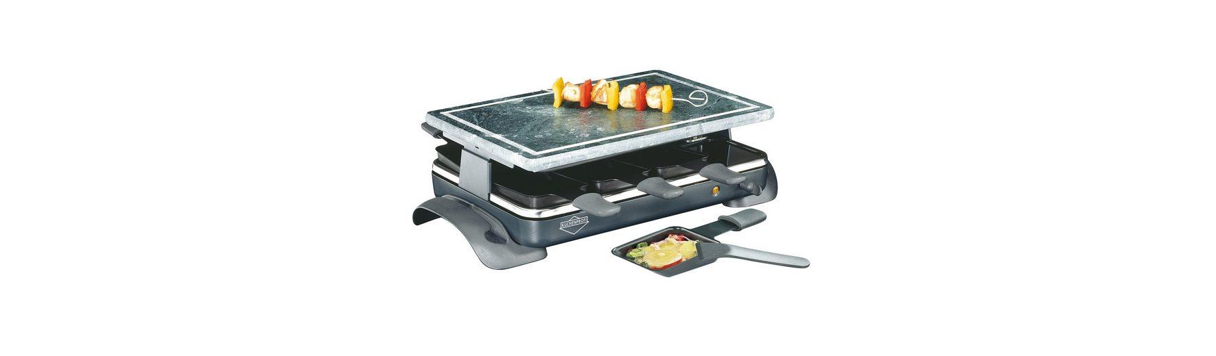 Küchenprofi Raclette mit Steinplatte »Hot Stone«