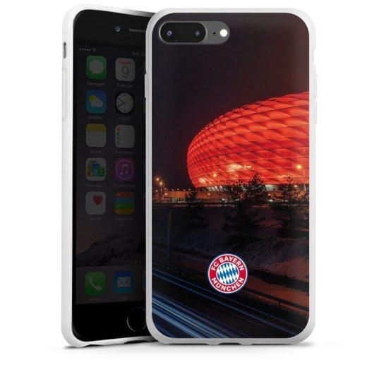 DeinDesign Handyhülle »Allianz Arena bei Nacht FCB« Apple iPhone 7 Plus, Hülle FCB Stadion FC Bayern München
