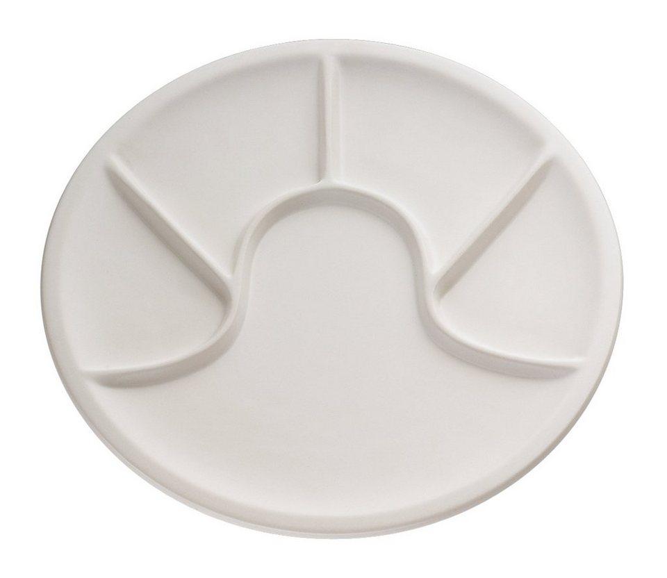 Küchenprofi Fondueteller in Weiß