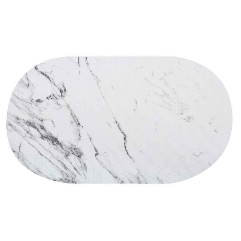 """Badematte »Dusch- und Wanneneinlage Motiv« MSV, mit Saugnäpfen, rutschhemmende Oberfläche, pflegeleicht, waschbar, PVC & Polyester, Motiv """"TOSCANA"""", 69 x 39 cm"""