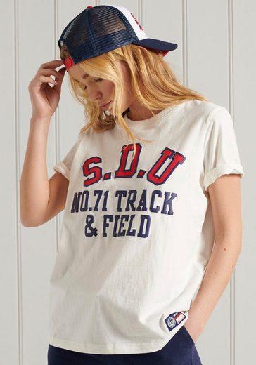 Superdry T-Shirt mit Logodruck