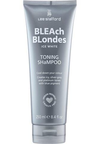 Lee Stafford Haarshampoo »Bleach Blonde Ice White T...