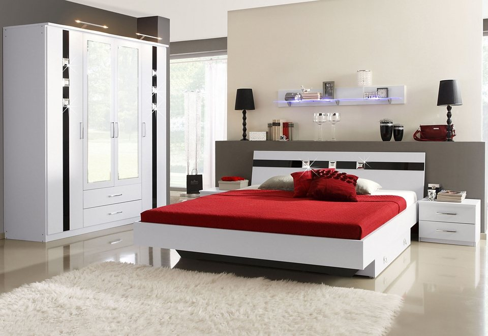 rauch schlafzimmer 4 teilig made in germany otto. Black Bedroom Furniture Sets. Home Design Ideas