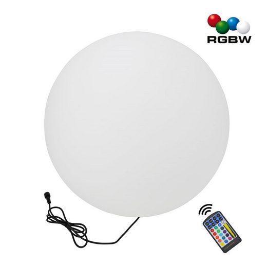 """VBLED LED Gartenleuchte »50CM RGB-WW Ball Kugelleuchte """"NATARE"""" für Außen IP68 Wasserdicht (Netzteil separat erhältlich)«"""