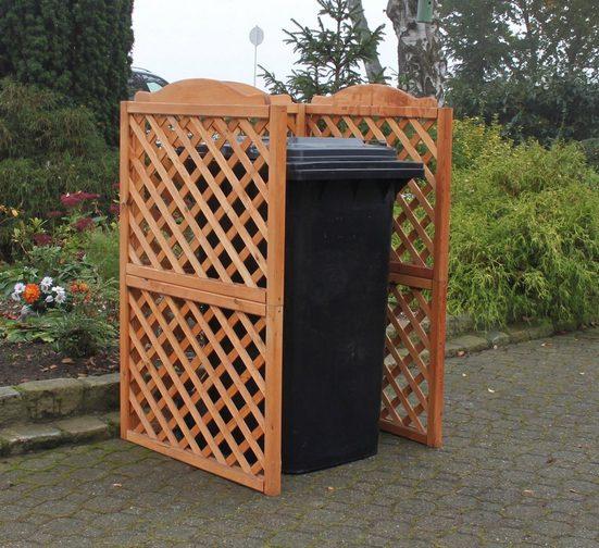 PROMADINO Mülltonnenabtrennung »Rex«, für 1 x 240 l