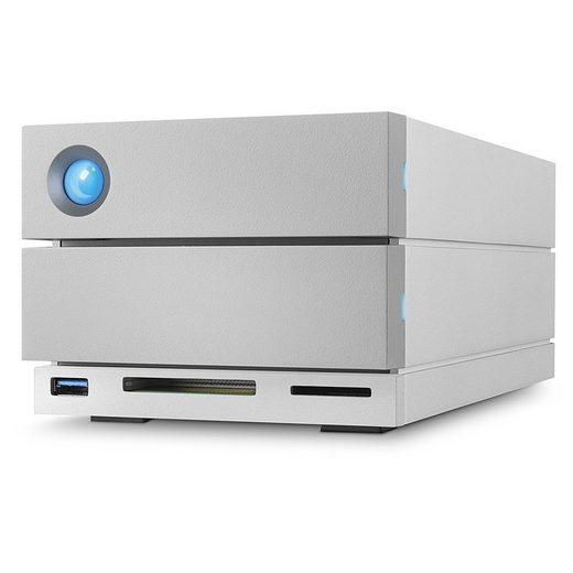 LaCie »2big Dock Thunderbolt3 ext. Festplatte 8TB« externe HDD-Festplatte