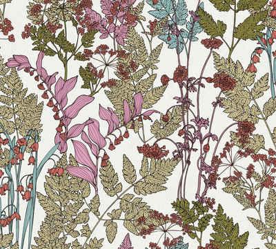 Architects Paper Vliestapete »Floral Impression«, glatt, floral, botanisch