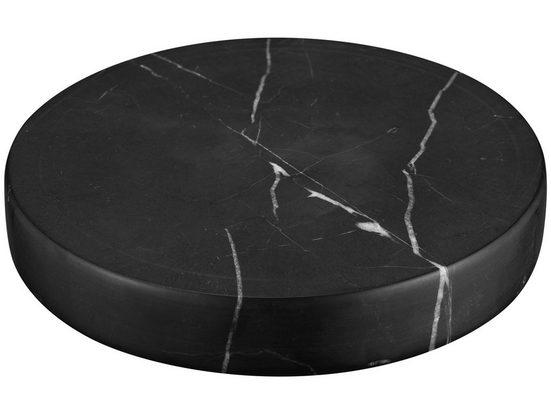 Sandberg »Sandberg Marble Stone Charger« Induktions-Ladegerät (1670 mA, 1-tlg., Echter Natur-Marmorstein, Wireless-Spule in Stein integriert, Drahtloser Standard: Qi)