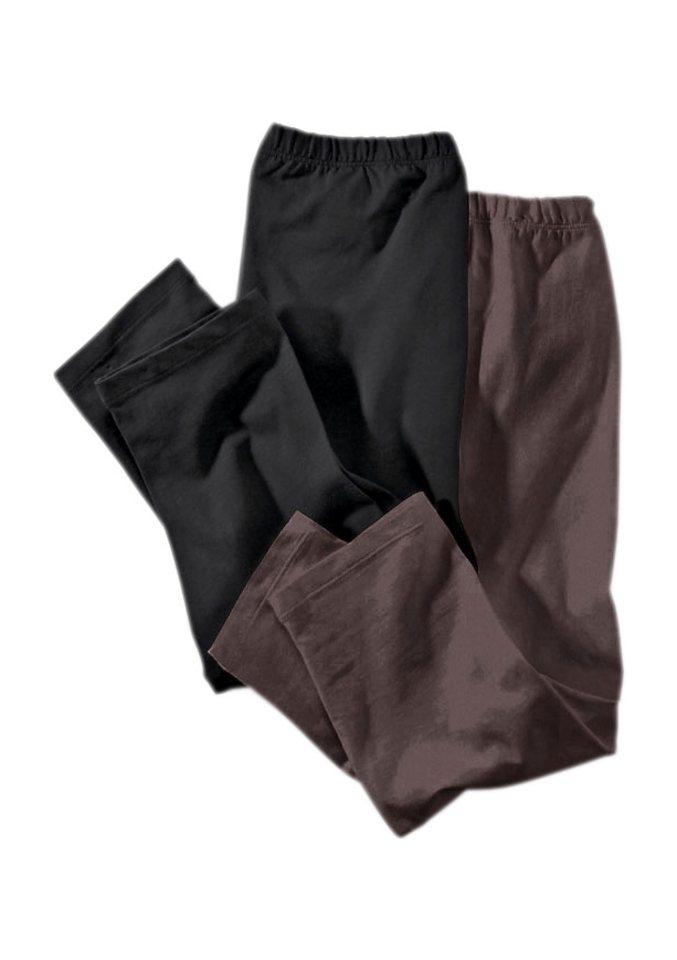 Cheer Leggings (Packung, 2 tlg., 2er-Pack) in braun+schwarz