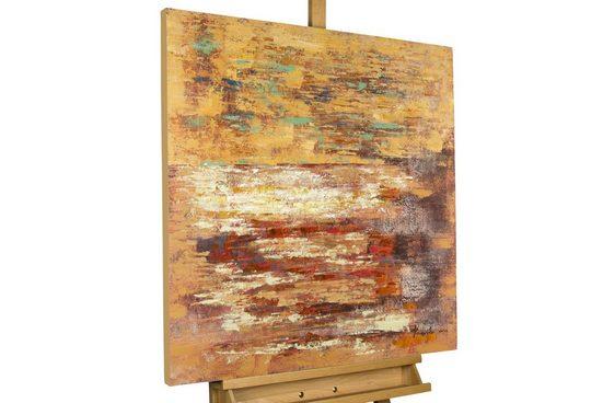 KUNSTLOFT Gemälde »Ein Leben zu zweit«, handgemaltes Bild auf Leinwand