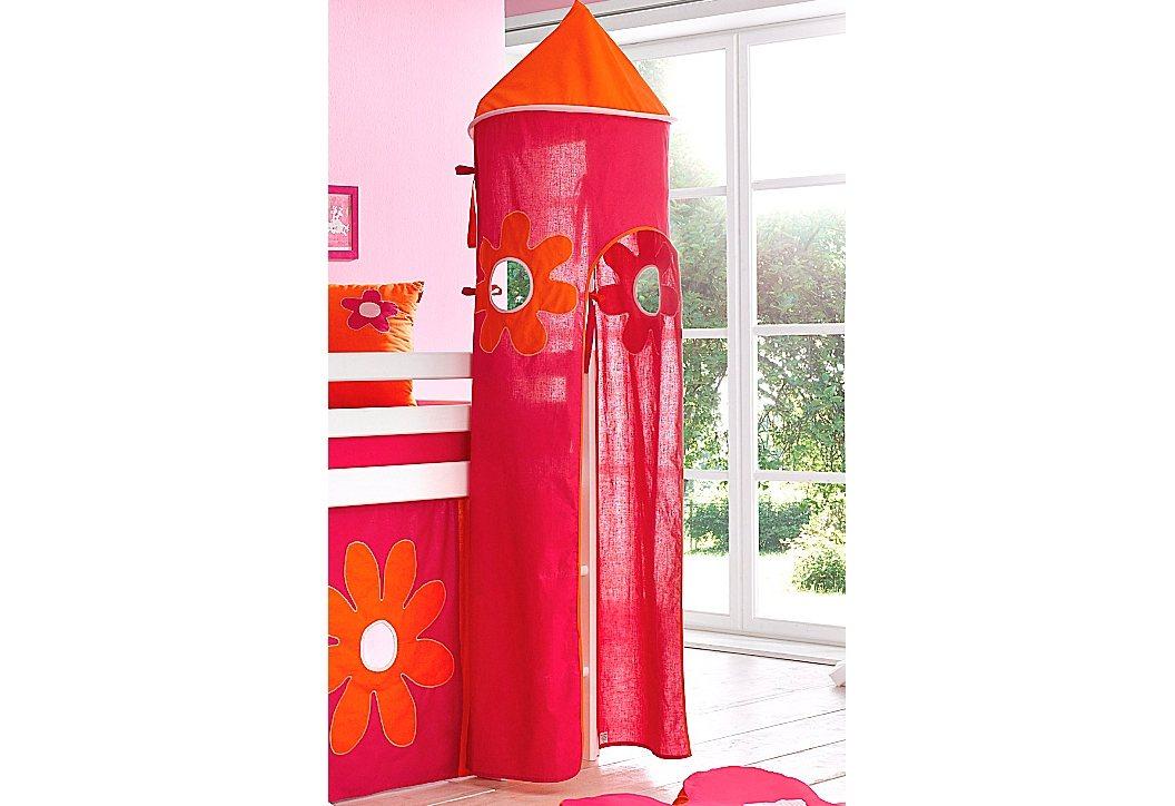 Hoppekids Turm »Flowerpower«   Kinderzimmer > Kinderbetten > Baldachine & Tunnels   Stoff   Hoppekids