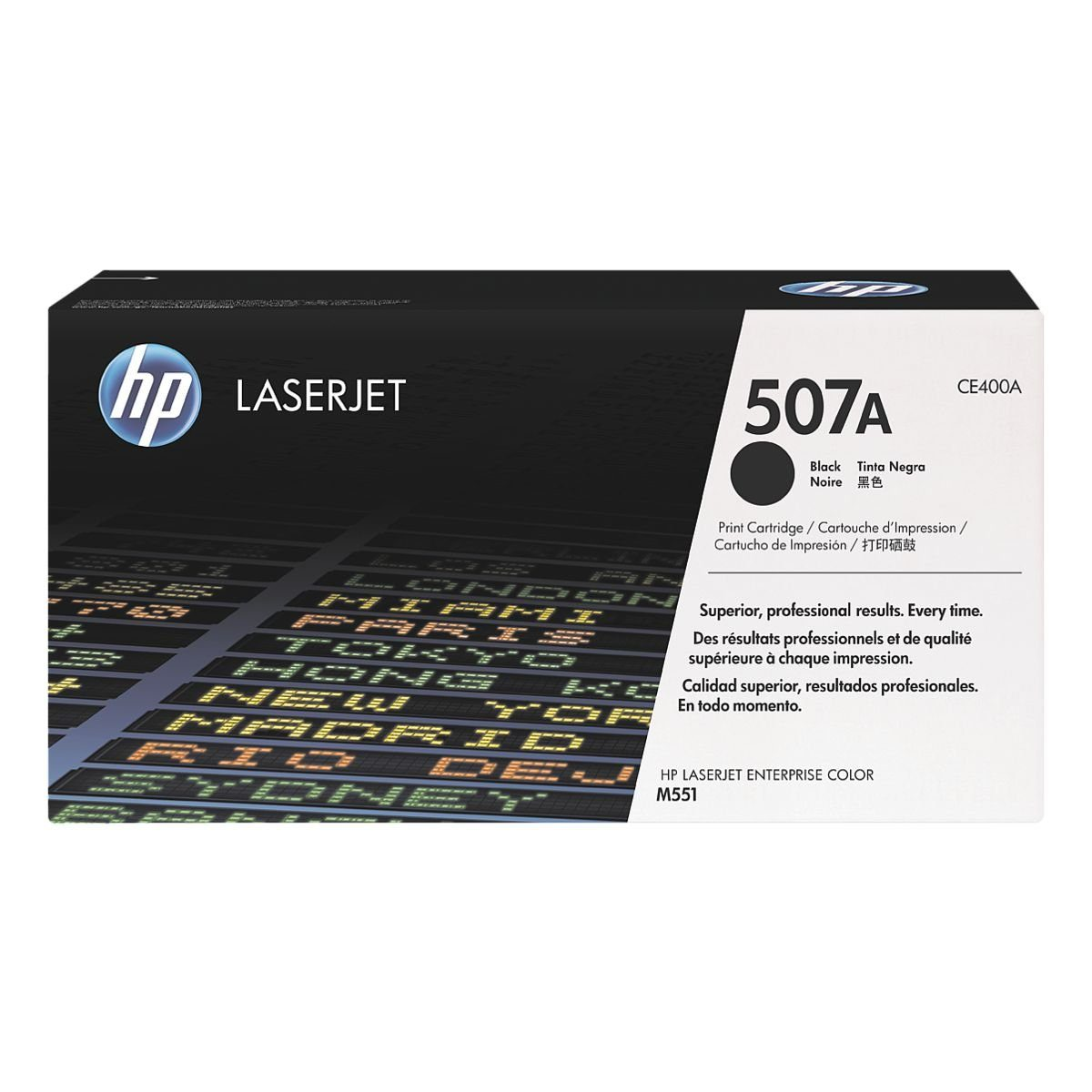 HP Druckkassette »CE400A« 507A