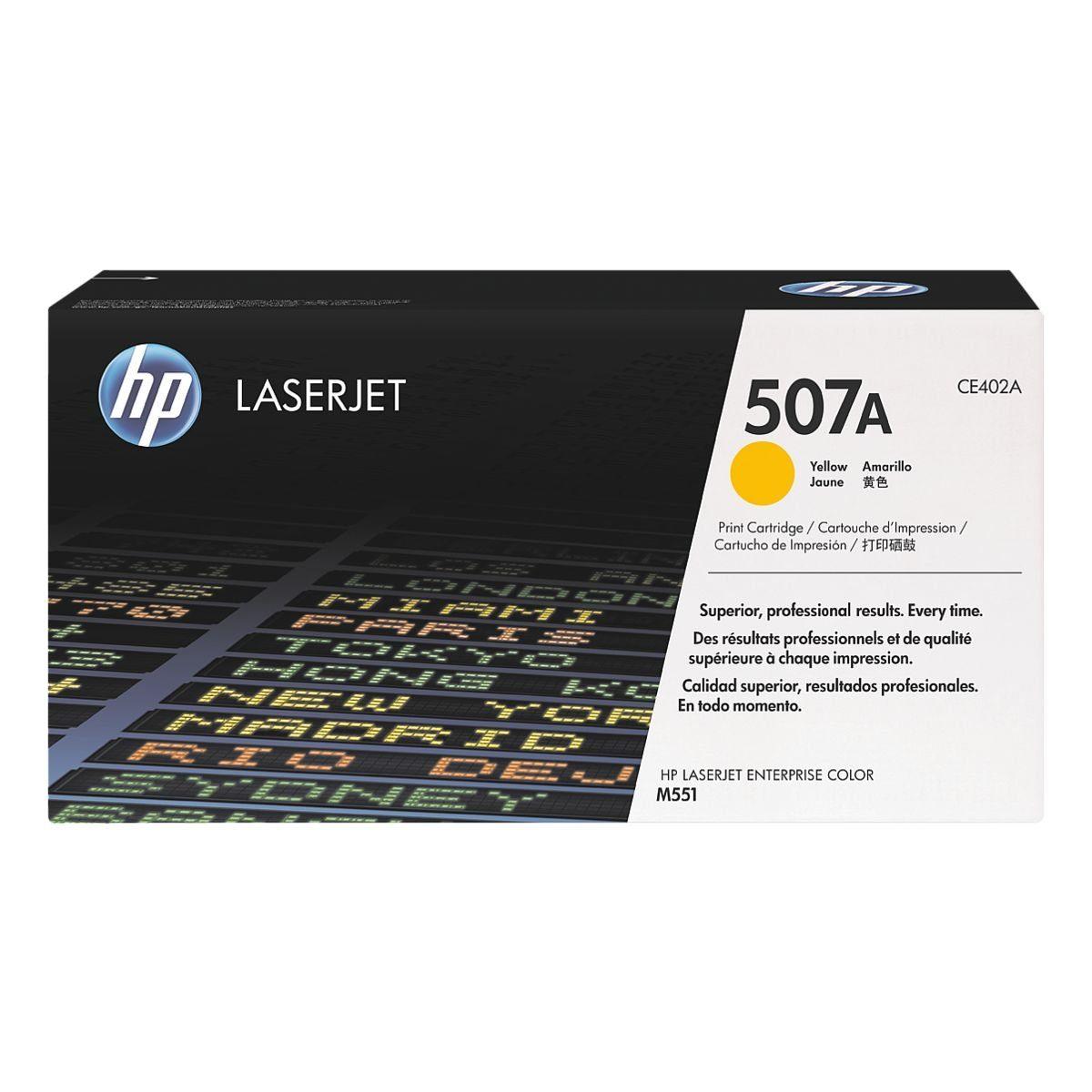 HP Druckkassette »CE402A« 507A