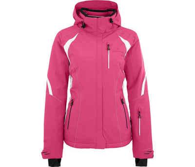 Bergson Skijacke »SNOWTASTIC« Damen Skijacke, wattiert, 20000mm Wassersäule, Kurzgrößen, pink