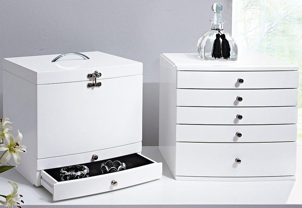 Schmuckkasten »Ida« in weiß