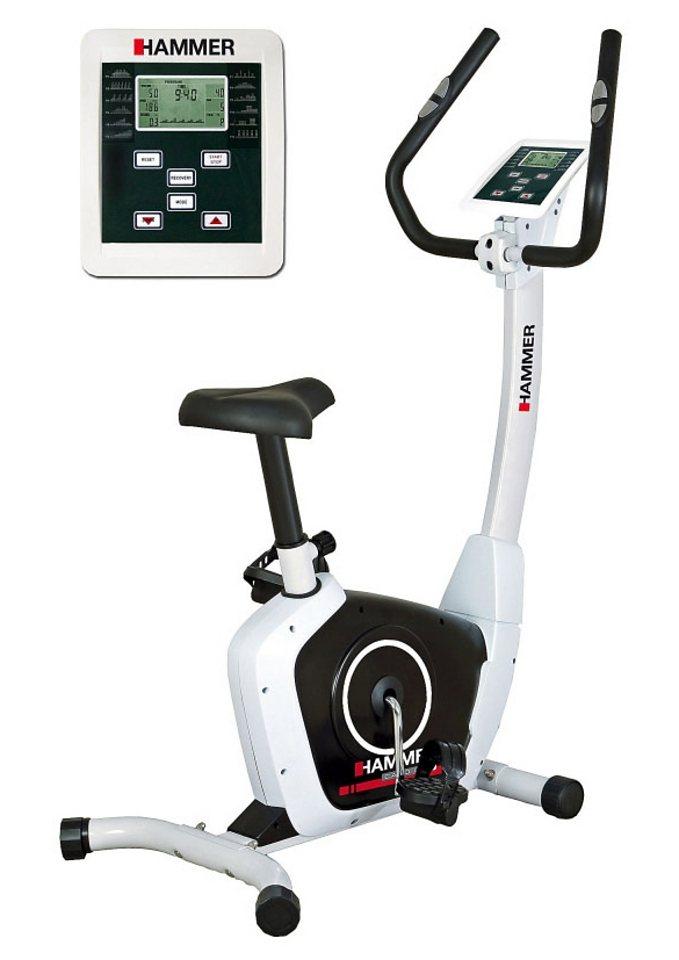 Heimtrainer, Hammer®, »Cardio T1« in weiß-schwarz