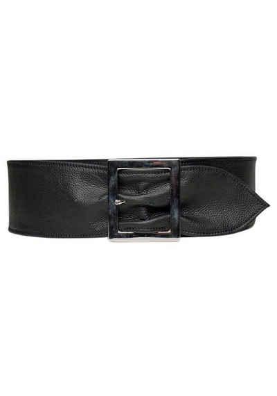 AnnaMatoni Taillengürtel aus weichem genarbtem Leder
