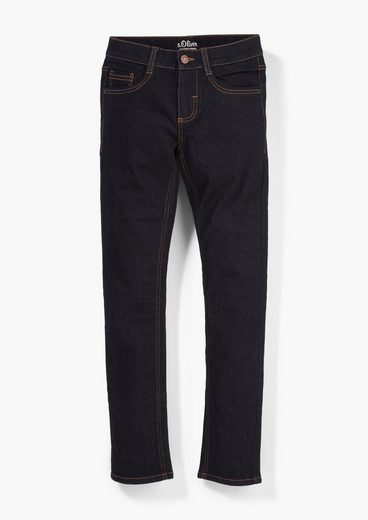 s.Oliver 5-Pocket-Jeans »Skinny: Jeans mit Waschung« Waschung