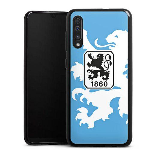 DeinDesign Handyhülle »1860 Löwe groß« Samsung Galaxy A50, Hülle TSV 1860 München Offizielles Lizenzprodukt Wappen