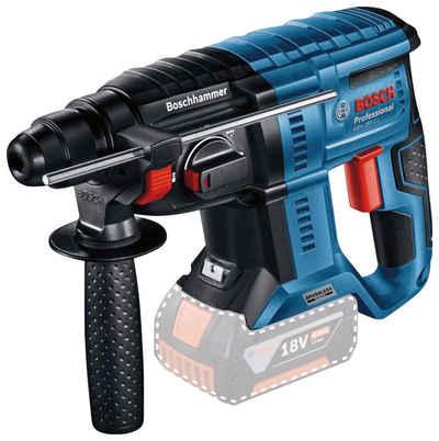 Bosch Professional Akku-Bohrhammer »GBH 18V-21 Professional«, max. 1800 U/min, kabelloser Komfort und bürstenlose Leistung, ohne Akku und Ldegerät