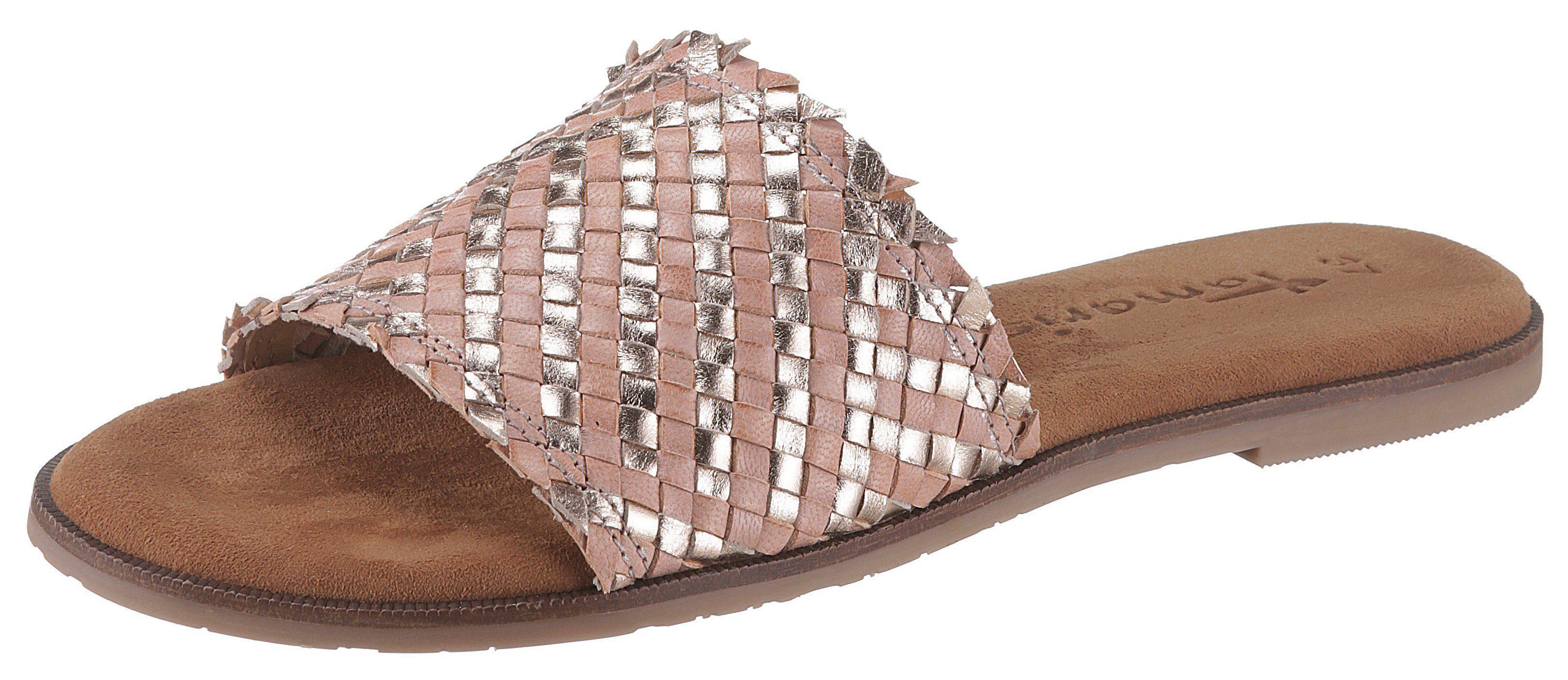 Tamaris »Crusy« Pantolette mit breiter Bandage | OTTO