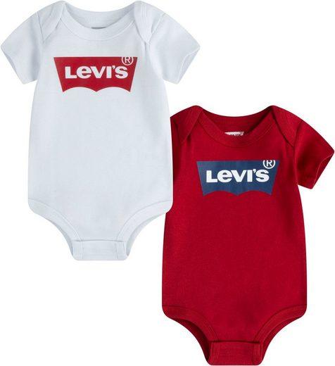 Levi's Kidswear Kurzarmbody (Packung, 2-tlg)
