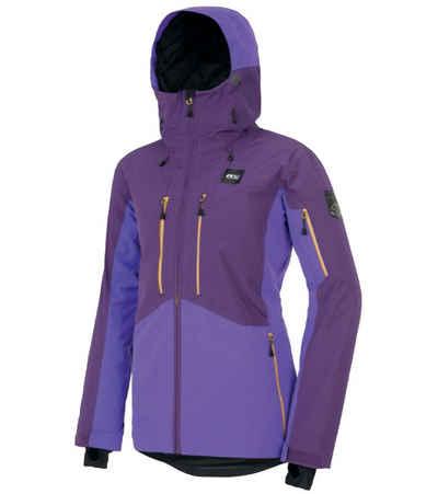 Picture Winterjacke »PICTURE Exa Snowboard-Jacke komfortable Winter-Jacke für Damen Ski-Jacke Violett/Schwarz«