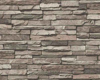 living walls Vliestapete »Best of Wood`n Stone 2nd Edition«, Steinoptik, Naturstein